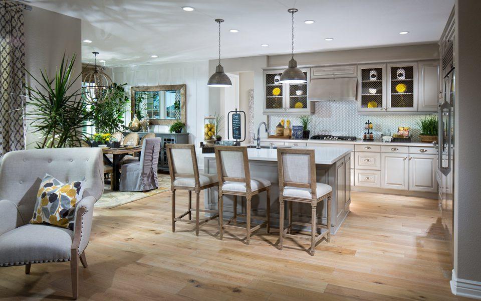 Cortesa model home kitchen