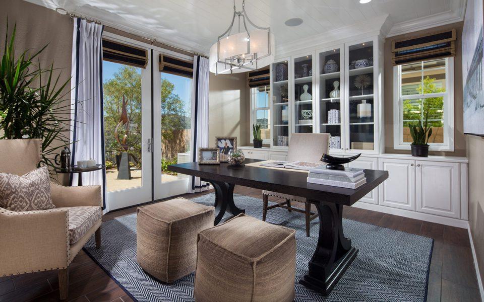 Cortesa model home office